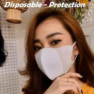 40 PCS  Protective Face Masks  3 Layers, 2 colors